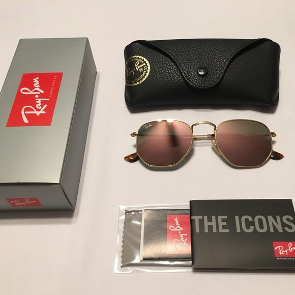 207dde2bcc Ray Ban Hexagonal Round Style RB 3548